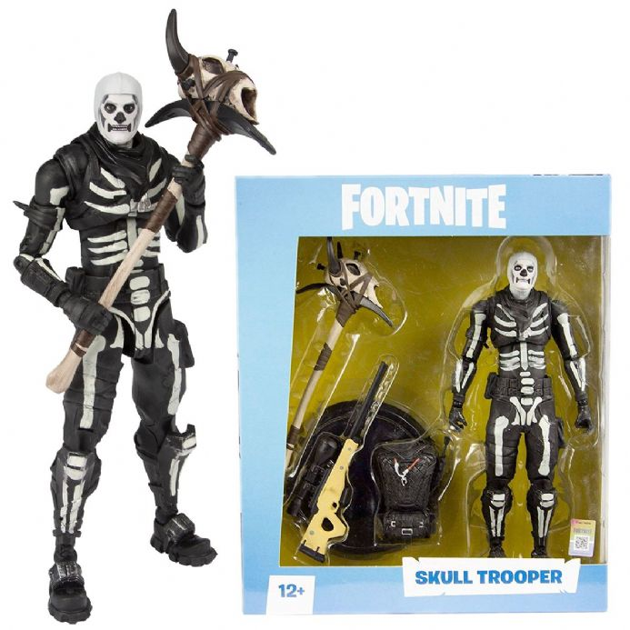 "Fortnite Skull Trooper 7"" Action Figure 